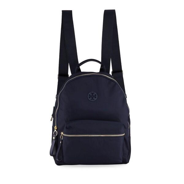 8d3bfe24b3db Shop Tory Burch Tilda Nylon Zip Backpack Tory Navy - Free Shipping ...