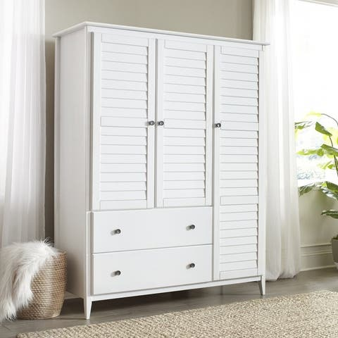 Buy White, Pine Armoires & Wardrobe Closets Online at ...