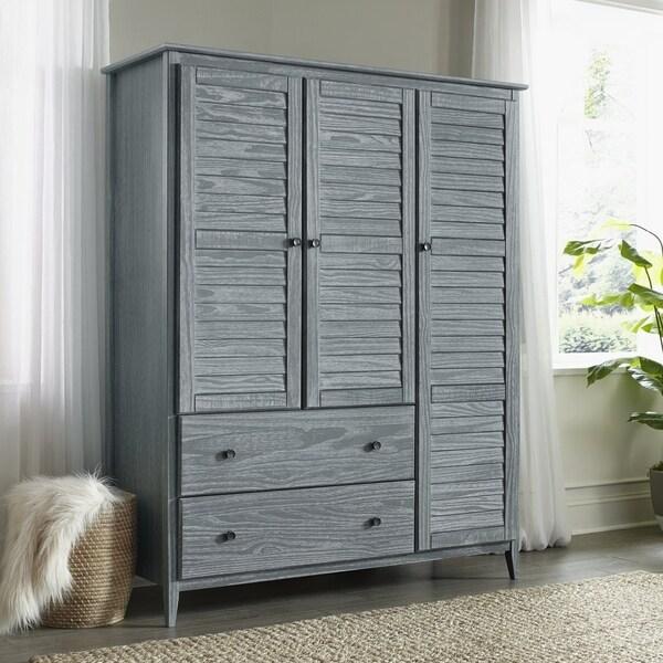 Grain Wood Furniture Greenport 3-door Armoire