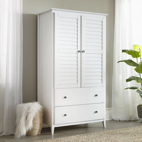 Buy Armoires & Wardrobe Closets Online at Overstock | Our Best ...