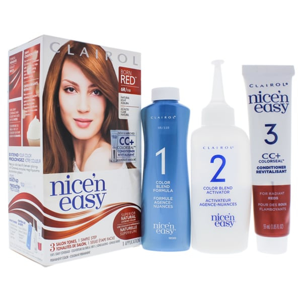 Shop Clairol Nice N Easy Permanent Color 6r 110 Natural
