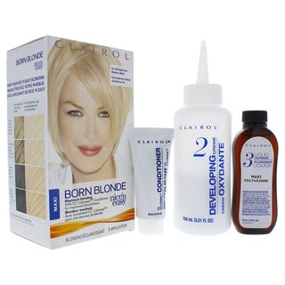 Clairol Nice 'n Easy Permanent Color Born Blonde Maxi