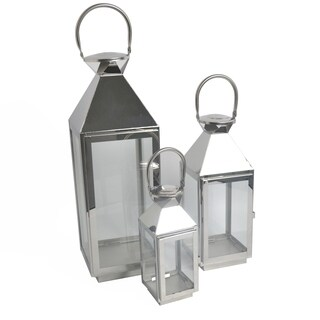 Stainless steel Lantern with Tempered glass by Westin Outdoor