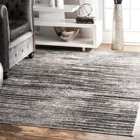 nuLOOM Contemporary Abstract Ombre Stipped Area Rug