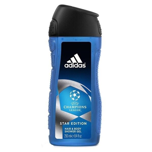 Aburrir Refinamiento Timor Oriental  Shop Adidas UEFA Champions League Star Edition 8.4-ounce Hair & Body Shower  Gel - Overstock - 25739509