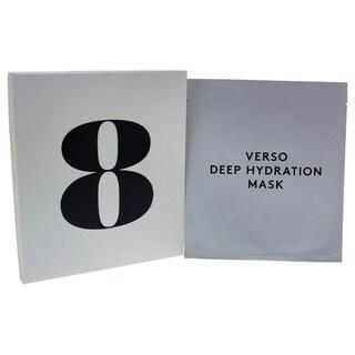Verso Skincare Deep Hydration Mask (4 x 0.88-ounce)