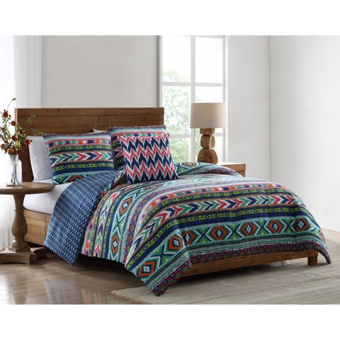 Asher Home Amelia Tribal Print Comforter Set