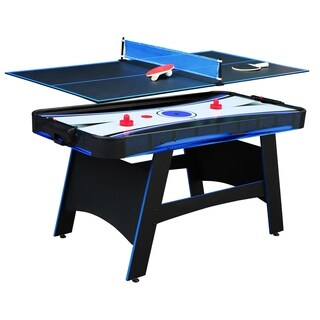 Bandit 5-ft Air Hockey Table with Table Tennis Top