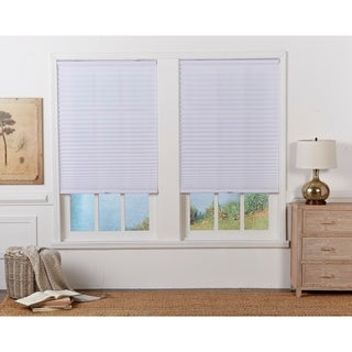 White Light Filtering Pleated Shade (72-inches long)