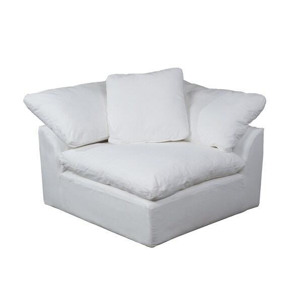 Shop Sunset Trading Cloud Puff Sofa Sectional Corner Arm