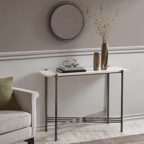 Madison Park Signature Rowen Console Table (2 Finish Options)