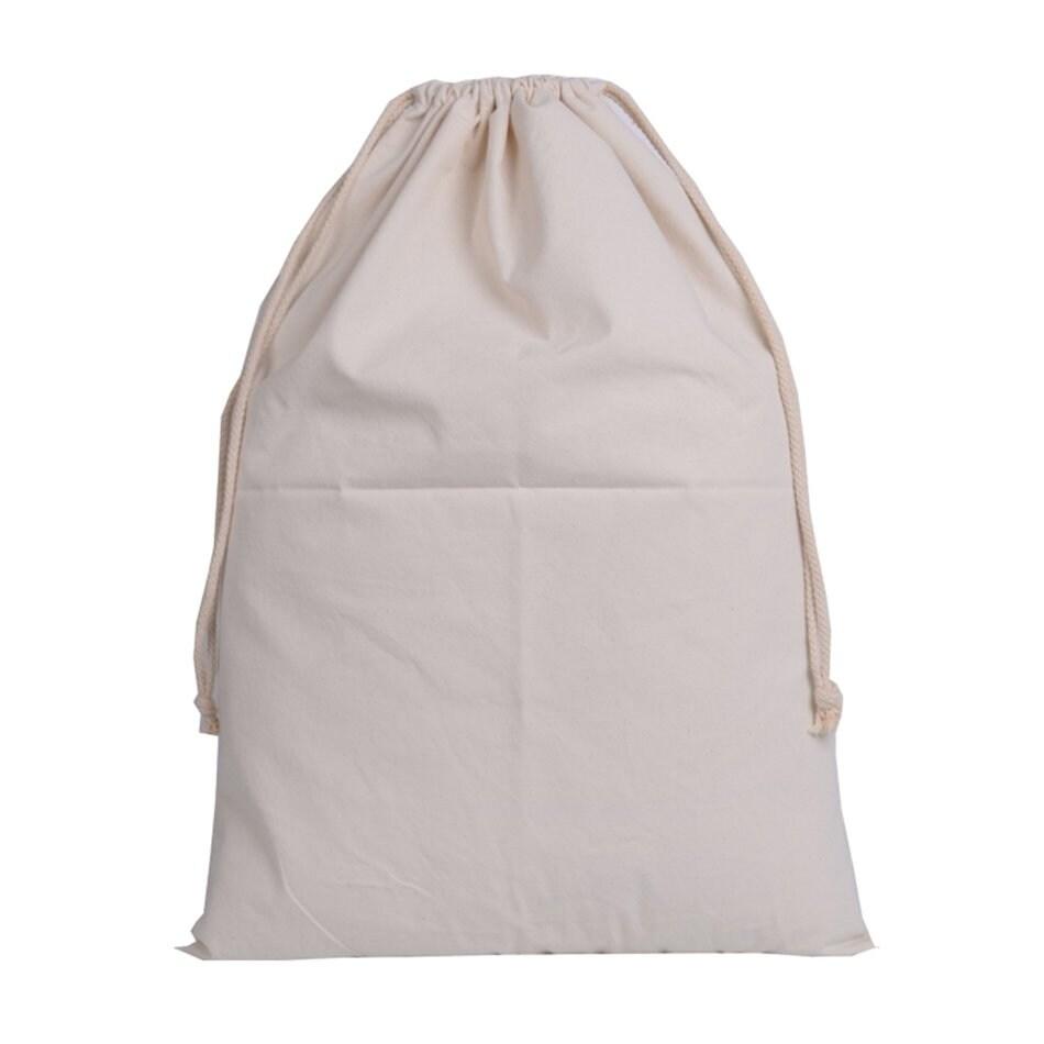 Christmas Bags In Bulk.High Capacity Santa Present Sack Canvas Bulk Christmas Bags With Drawstring White