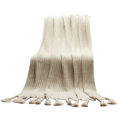 Carson Carrington Uusikaupunki Knitted Throw
