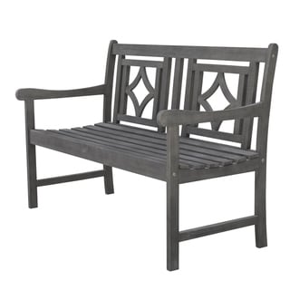 Awe Inspiring Buy White Outdoor Benches Online At Overstock Our Best Ibusinesslaw Wood Chair Design Ideas Ibusinesslaworg