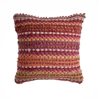 LR Home Sunny Colored Decoraive Throw Pillow 18 inch