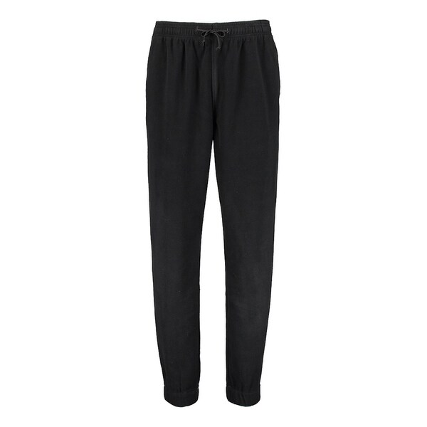 826e63c186 Shop Wear First Polar Fleece Jogger- Jet Black - Free Shipping On Orders  Over $45 - Overstock - 25746778