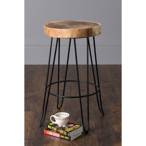 East at Main's Mapleton Teak Counterstool