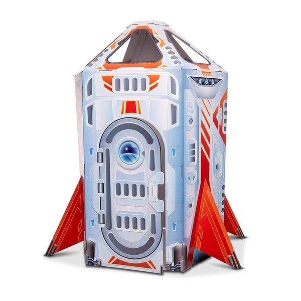 Rocket Ship Indoor Play House