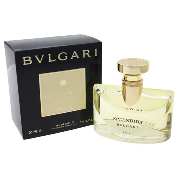 407cb7963cbd Shop Bvlgari Splendida Iris D or Women s 3.4-ounce Eau de Parfum Spray -  Free Shipping Today - Overstock.com - 25750060