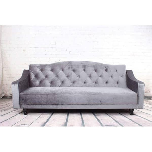 Superb Shop Copper Grove Garde Convertible Sleeper Velvet Sofa Machost Co Dining Chair Design Ideas Machostcouk