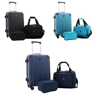 "Link to Travelers Club Chicago Plus 3PC Exp. Rolling Value Set - 20""/15""/10"" Similar Items in Luggage Sets"