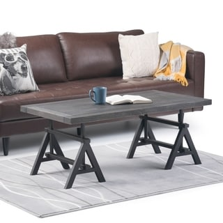 "Carbon Loft Reitherman Coffee Table - 48"" W x 24"" D x 19"" H"