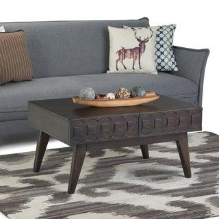 "Carson Carrington Saldefall Handmade Mid-century Modern Coffee Table - 36"" W x 16"" D x 18"" H"