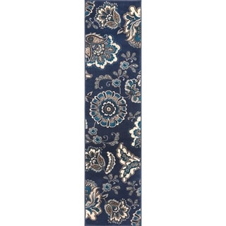 """Tremont Jacobian Floral Area Rug - 1'9"""" x 7' 2"""""""