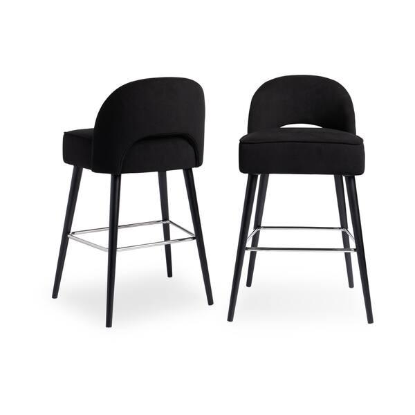 Cool Shop Strick Bolton Toronto Black Velvet Kitchen Counter Bralicious Painted Fabric Chair Ideas Braliciousco
