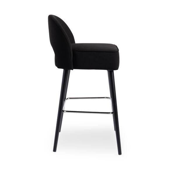 Marvelous Shop Strick Bolton Toronto Black Velvet Kitchen Counter Bralicious Painted Fabric Chair Ideas Braliciousco