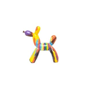 "Interior Illusions Plus Graffiti Balloon Dog 12"" tall"