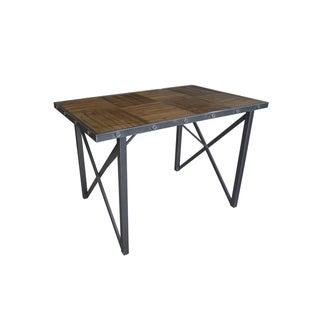 Carbon Loft MacLaren Industrial Rectangular Gathering Table, Grey