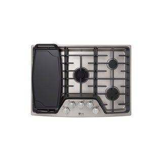 """LG LSCG307ST STUDIO 30"""" Gas Cooktop Stainless Steel"""