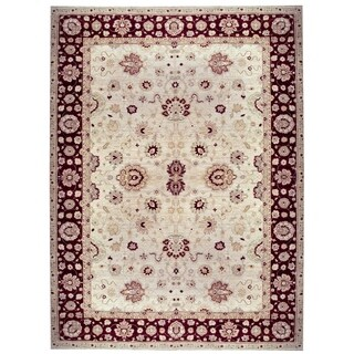 Handknotted Wool Agra Rug