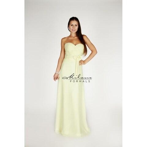 Sweatheart Neckline Evening Gown from Milano Formals #E1024