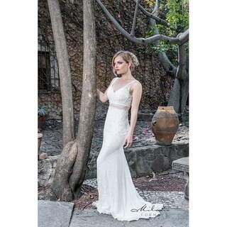 Laced evening gown from Milano formals #E2025