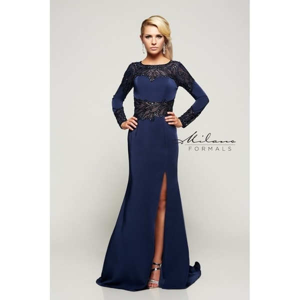 54c2801e53 Shop Gorgeous formal dress from Milano formals  E2074 - Free Shipping Today  - Overstock - 25752225