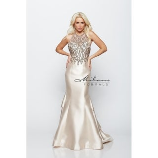 Breathtaking mermaid evening gown from Milano formals #E2090