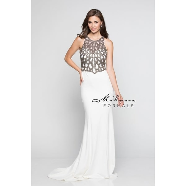 6fc7e4e614 Shop Fashionable Evening Gown from Milano Formals  E2229 - Free Shipping  Today - Overstock - 25752292