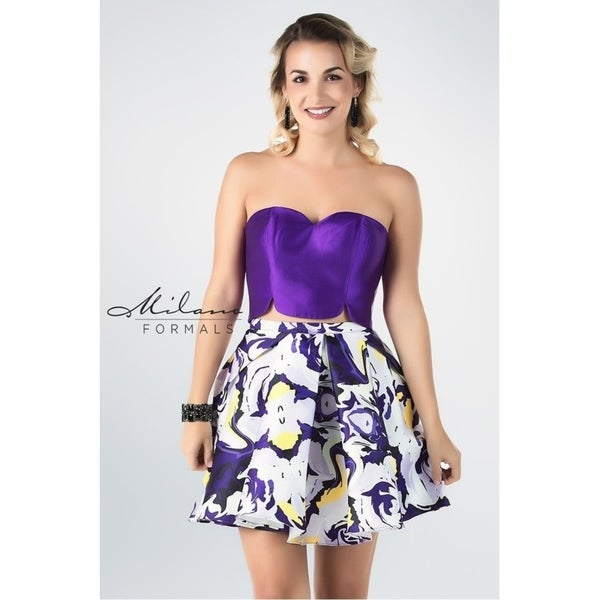 9fb740b09ae71 Gorgeous sleeveless prom dress from Milano formals #E2281