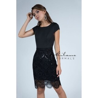 Chic prom dress from Milano formals #E2262