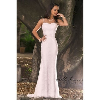 Exquisite Mermaid Bridal Gown from Milano Formals #AA225