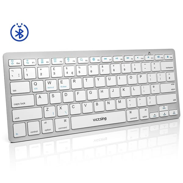 Shop VicTsing Ultra-Slim Portable Bluetooth Keyboard for iOS