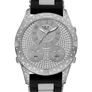 M Milano Expressions Bullet Silicon Strap Watch - 4649 - N/A