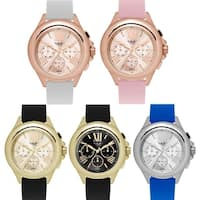 M Milano Expressions Silicon Strap Lady Watch - 4654 - One size