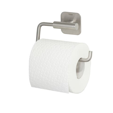 Toilet Roll Holder Tiger Colar Brushed Stainless Steel