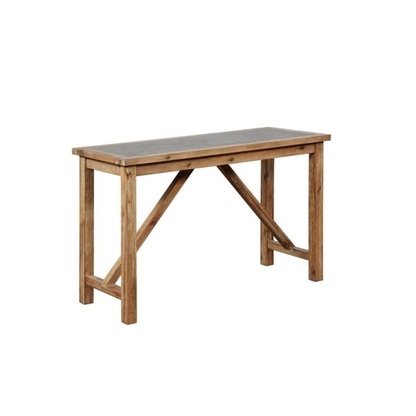 Calin Rustic Console Table