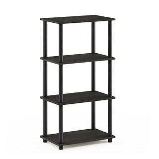 Porch & Den Wanamaker No Tool 4-tier Storage Shelf