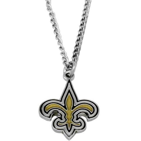 NFL New Orleans Saints Sports Team Logo Necklace - Multi-color