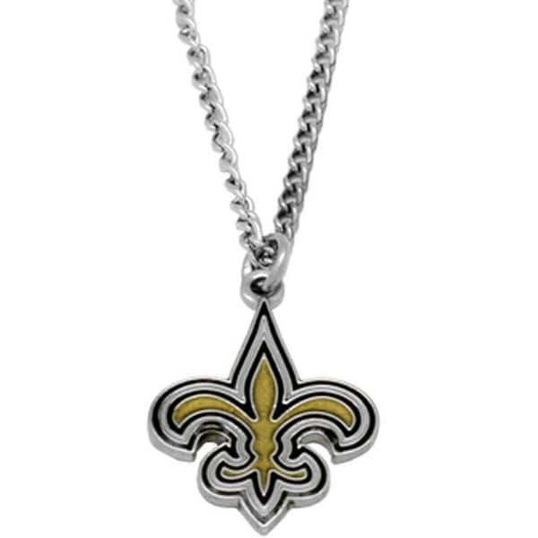 NFL New Orleans Saints Sports Team Logo Necklace - Multi-color. Opens flyout.